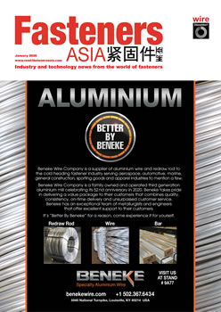 Fasteners ASIA January 202 cover